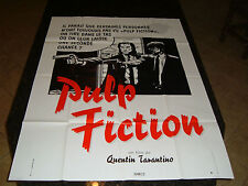 "PULP FICTION Original Movie Poster, 45.5"" x 62.5"", C8.5 Very Fine to Near Mint"