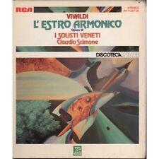 Vivaldi, Scimone 3 MC7 L'Estro Armonico Opera 3 / RCA - VK 71267 New