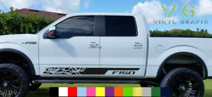 Ford F150 F-150 Vinyl Decal Sticker Graphics Sport Side Door x2 ANY COLOR 078