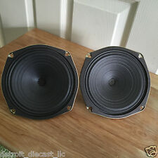 """2 NOS 6-1/4"""" 8 Ohm Projected Sound CO OP Drive In Movie Theatre Speakers"""
