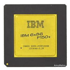 IBM 6x86 p150+ CPU/Cyrix 6x86 Design-fantastiche Retrò CPU con Goldcap