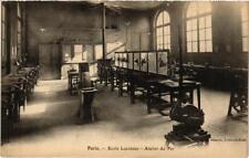 CPA PARIS (5e) Ecole Lavoisier. Atelier du fer (537706)