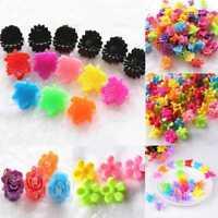 25Pcs Girls Kids Mini Small Flower Hair Claws Clips Clamps Hair Pin