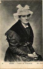 CPA Angers-Femme des Ponts de Cé (189757)