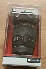 Camera Lens Coffee Mug Shaped As Canon EF 24-105mm With Biscuit Lid*Secret Santa