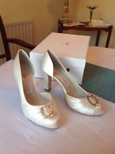 Rainbow Couture SALA wedding bridal shoes size 4.5 / 37.5 RRP £120 ivory BNIB