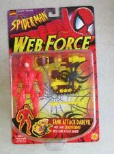 MOC SEALED 1997 TOYBIZ MARVEL SPIDER-MAN TANK ATTACK DAREDEVIL ACTION FIGURE