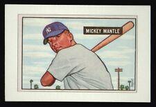 MICKEY MANTLE 1951 BOWMAN ~ROOKIE~ Replica BASEBALL CARD!!