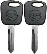 2 New MERCURY Transponder Key Blank Ford Lincoln Mercury- Self Programming LOGO