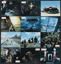 RETURN OF THE JEDI Original 1983 release set of 22 Deluxe German lobby cards