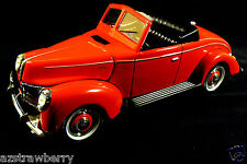 Golden Wheel Die cast Forties Ford Collectibles Coup Red 1:18 new