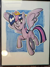 My Little Pony Twilight Sparkle Thom Zahler Original Comic Art Full Color