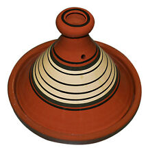 MOROCCAN COOKING TAGINE LARGE CERAMIC COOK POT TAJINE TANGINE TANEJINE Lead Free
