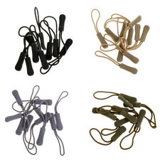 40x Zip Puller Zipper Pull Cord Fastener Replacement Slider Clothes Backpack