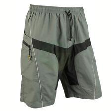 Men's MTB Mountain Bike Cycling Casual Pants Shorts + Detachable Padded 5 SIZES
