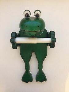 Novelty Olio Frog Toilet Roll Holder