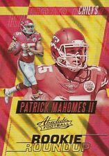 Patrick Mahomes II - 2017 Absolute Football Trading Card, Rookie Roundup