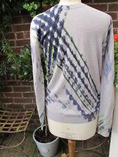 Ropa de hombre azul 100% lana talla XL