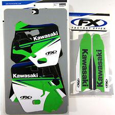 Factory Effex EVO 14 Graphics Forks Kawasaki KX500 KX 500 94 96 97 98 00 01 03