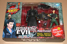 Resident Evil Chris & Tyrant Figure Moby Dick Series 6 with Nemesis Type 3 Part
