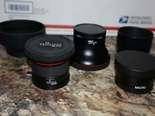 HD Fisheye + Macro Filters & More For Canon EOS REBEL XS XSI XT XTI