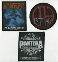 Pantera Patch Set of 3