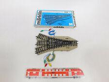 CN815-0,5# Märklin H0/AC 5214 Dreiwegweiche (M-Gleis) geprüft, sehr gut+OVP