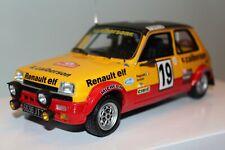 Renault 5 Alpine Calberson Monte Carlo 1/18 OT034 OTTOMODELS OTTOMOBILE OTTO
