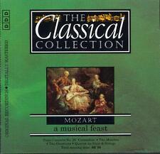 MOZART: PIANO CONCERTO No 26, K537, FLUTE QUARTET K285 + OVERTURES ETC - CD 1995