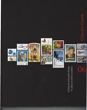 2006 CANADA  scarce ANNUAL COLLECTION STAMPS stamps mint book & binder