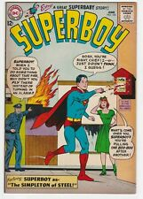 Superboy #105 VF+ 8.5 Superman The Simpleton of Steel Clark Kent DC Jerry Seigel