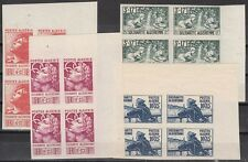 Algeria Scott B47-B50 Mint NH imperf blocks (Maury CV 520 Euros)