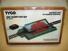 Tyco Ore Dump Car Set with Remote Control, New in Factory-Sealed Box