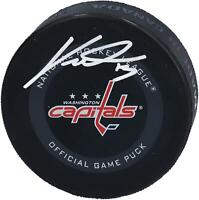 Jakub Vrana Washington Capitals Autographed 2019 Model Official Game Puck
