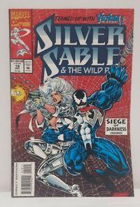 Silver Sable #19 - Cool Venom Cover - Marvel Comics 1993