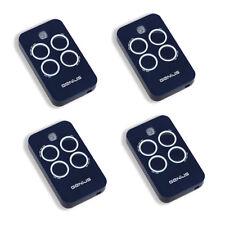 Genius Echo Remote Control Tx4 Rc 433 Mhz Transmitter Garage Door Openers Lot 4