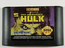 ¤ The Incredible Hulk ¤ (Game Cart) Good! Sega Genesis Authentic
