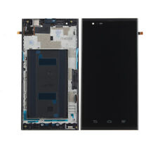 For ZTE ZMAX Z970 Black NEW Touch Screen LCD display Assembly + Frame parts @1H