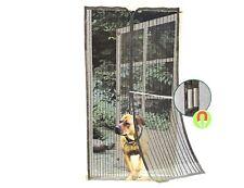 Insektenschutz Vorhang 100 x 220cm Magnet Tür Fliegengitter Moskitonetz 493181
