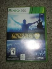 Guitar Hero Live (Microsoft Xbox 360, 2015) w/ Case Game Only