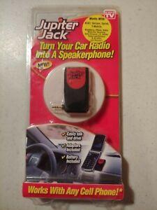 2009 Jupiter Jack Cell Phone to Car Radio Kit Speakerphone NIP C1