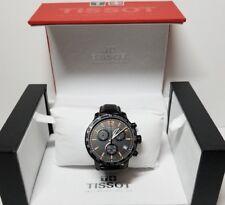Tissot Men's T0954173605700 Quickster Chronograph Swiss Quartz Black Watch