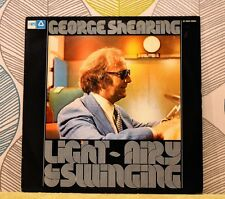 GEORGE SHEARING - Light Airy & Swinging [Vinyl LP,1974] Dutch Import Jazz *EXC