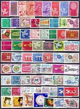 timbres oblitérés   EUROPA