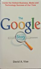 The Google Story David A Vise Hardcover Book 2005 First Edition First Printing
