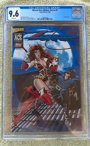 Wizard Ace Edition: Zorro #5 (Topps-Wizard, 96) CGC 9.6 (Acetate c) Lady Rawhide