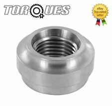 """AN -4 (7/16"""" UNF AN4 AN 04) FEMALE Steel Weld On Fitting Round Base"""