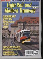 LIGHT RAIL AND MODERN TRAMWAY MAGAZINE - June 1997 - Vol. 60 - No. 714