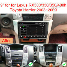 "9"" Android 9.0 Car Stereo Radio for Lexus RX300/330/350 Toyota Harrier GPS NAVI"
