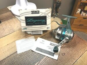 Vintage 1997 Zebco Legacy 44L Under Spin Cast Reel New In The Box  USA